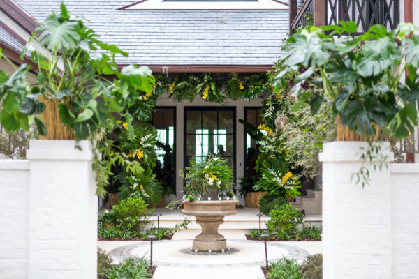 courtyard for event
