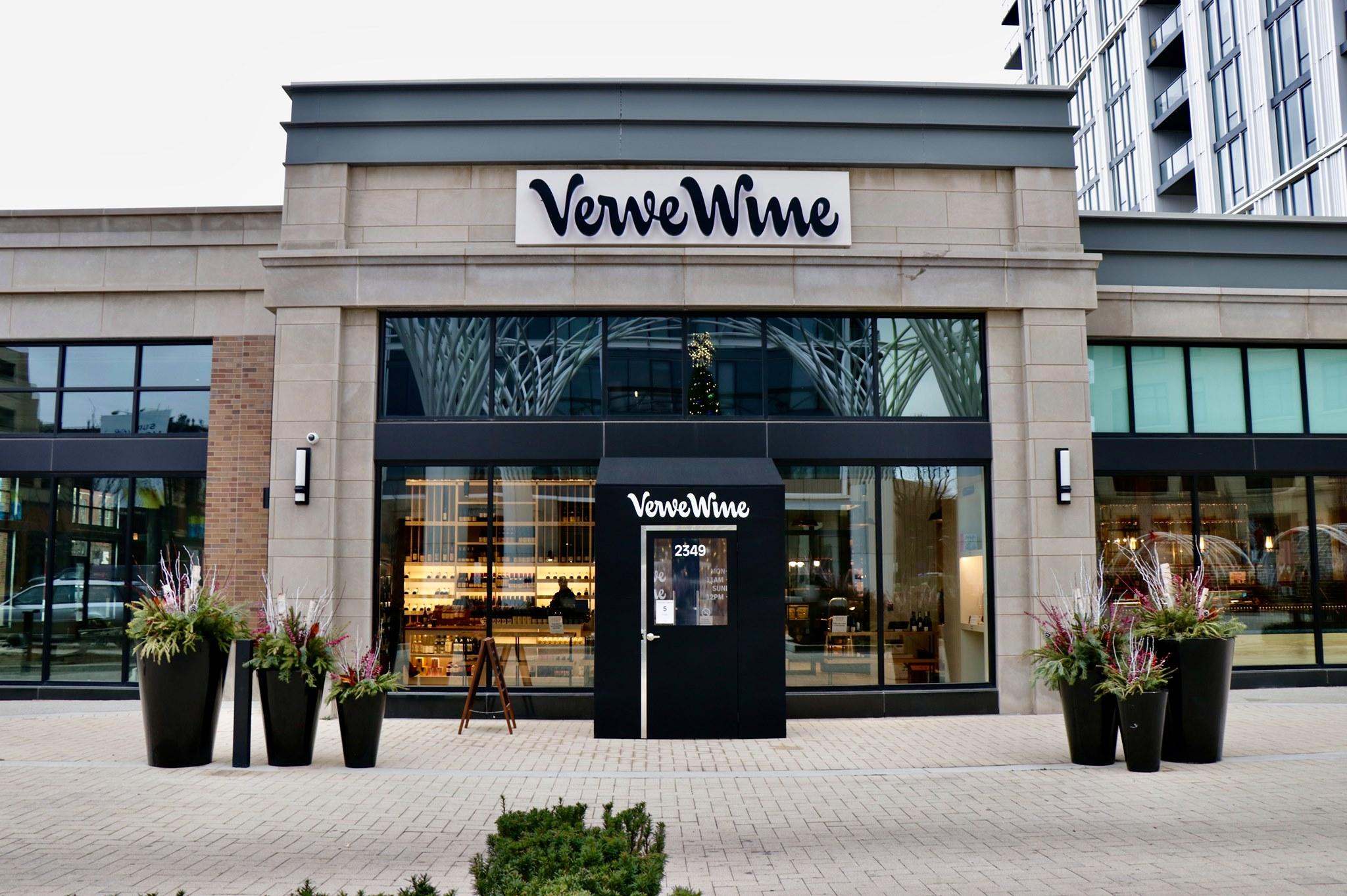 Verve Wine Chicago front